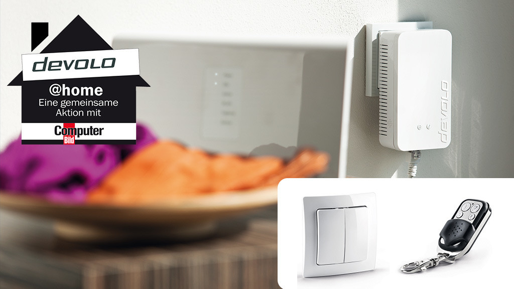 devolo macht das smarthome komfortabel computer bild. Black Bedroom Furniture Sets. Home Design Ideas