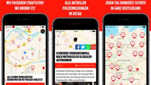 Tatorte-App ©Move Fast GmbH