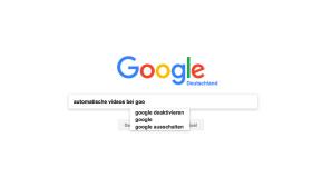 Google Startseite ©COMPUTER BILD