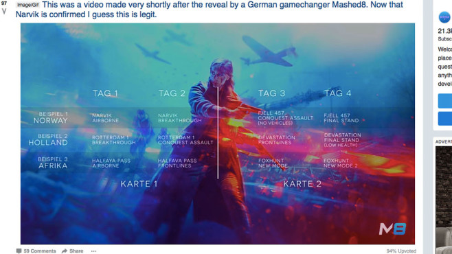'Battlefield V' Map Voting Between Rounds Won't Be Live at ...