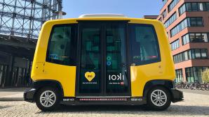Autonome Kleinbusse ©BVG