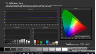 """Philips PUS7502 mit Ambilight im Test Im Bildmodus """"ISF Tag"""" zeigt der Philips PUS7502 Farben sehr natürlich und normgerecht an (Messung mit Calman von ).©COMPUTER BILD"""