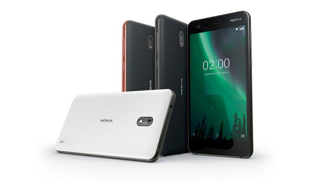 Nokia 2 kommt 2018 für 119 Euro nach Deutschland