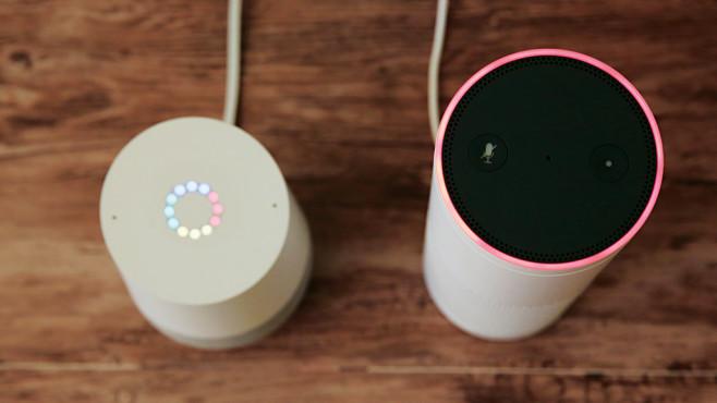 Google Home vs. Amazon Echo im Duell: Wer darf einziehen? XXX ©COMPUTER BILD