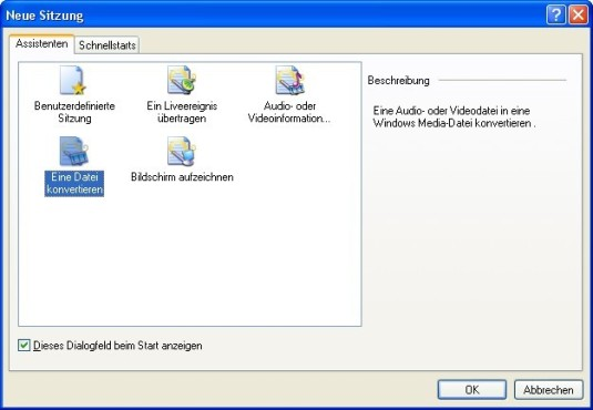 Screenshot 4 - Windows Media Encoder 9