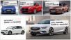 e-Golf © Audi, Mazda, Ford, VW, Opel