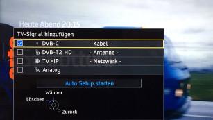 Günstig, smart & Full-HD: Panasonic ESW504 im Test Außer per Satellit, Kabel und Antenne empfängt der Panasonic TV-Programme auch über das Heimnetzwerk von anderen Fernsehern oder TV-Receivern. ©COMPUTER BILD