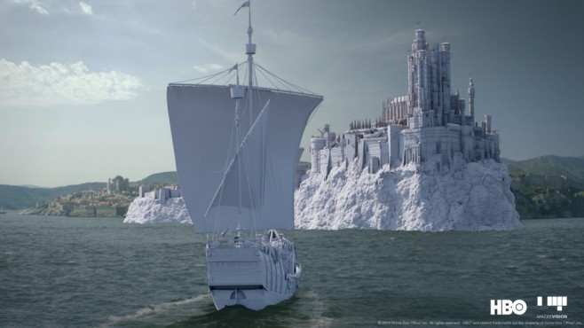 Special Effect in Game of Thrones © HBO, Mackevision