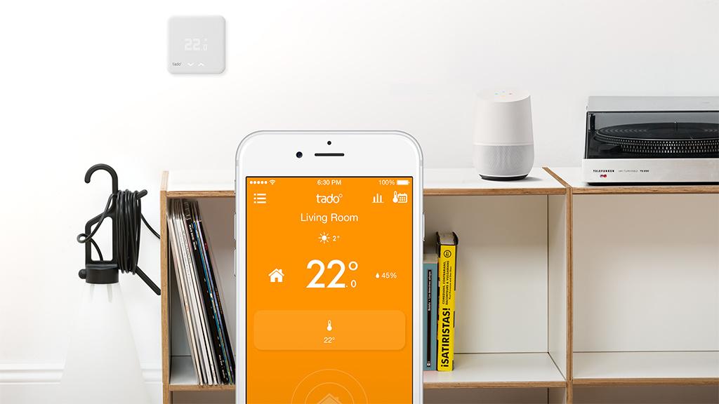 tado google home steuert die heizung computer bild. Black Bedroom Furniture Sets. Home Design Ideas