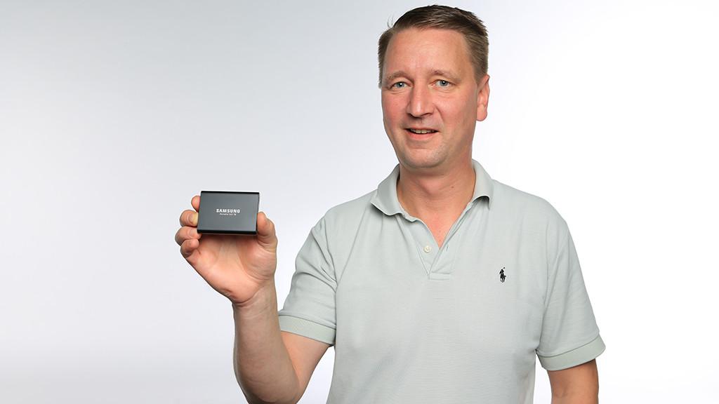 Samsung Portable SSD T5 ©COMPUTER BILD