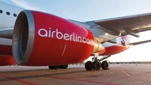 Triebwerk eines AirBerlin-Jets ©AirBerlin