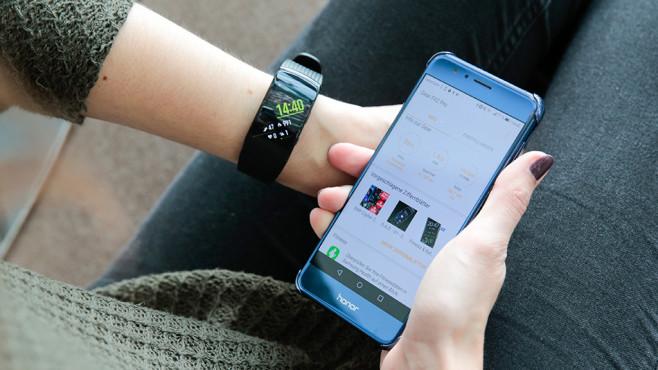 Samsung Gear Fit 2 Pro ©COMPUTER BILD