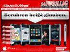 Das iPhone wird es aller Voraussicht nach auch im Media Markt geben.