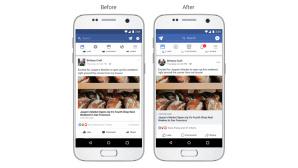 Facebook-App: Design ©Facebook