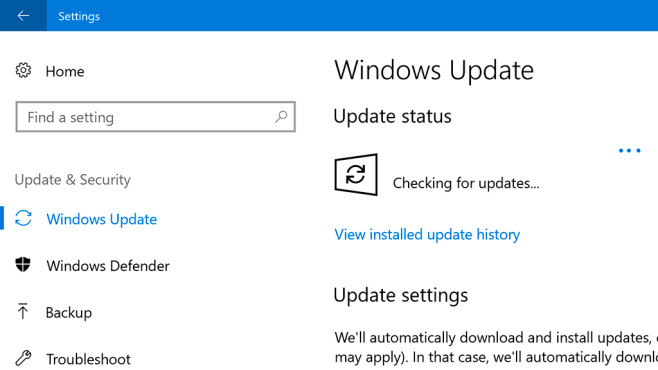 Windows Update starten © COMPUTER BILD