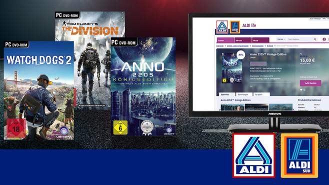 Pünktlich zur Spielemesse Gamescom | Aldi life startet Verkauf von Download-Games