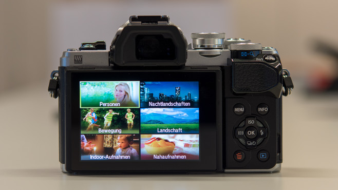Olympus OM-D E-M10 Mark III: Kameramenü ©COMPUTER BILD