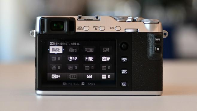 Fujifilm X-E3: Mini-Joystick ©COMPUTER BILD
