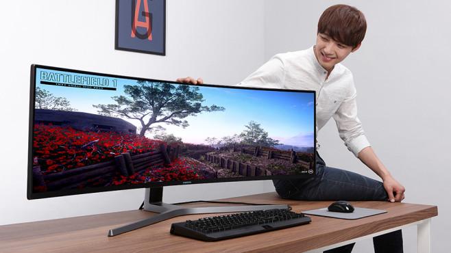 Samsung CHG90 ©Samsung