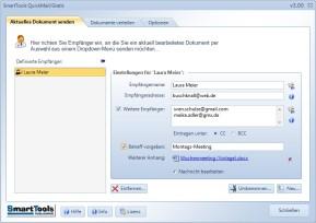 SmartTools QuickMail für Word