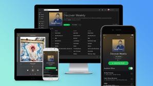 mobile Geräte mit Spotify ©Spotify