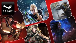Steam-Spiele ©Valve,  Nexon Corporation, WarChest, Digital Extremes,  Grinding Gear Games, Arc Games