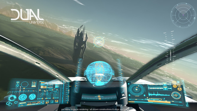 """Dual Universe: No Man's Sky trifft Minecraft Die Macher von """"Dual Universe"""" haben eines der verrücktesten Spielkonzepte der Gamescom. ©Novaquark"""