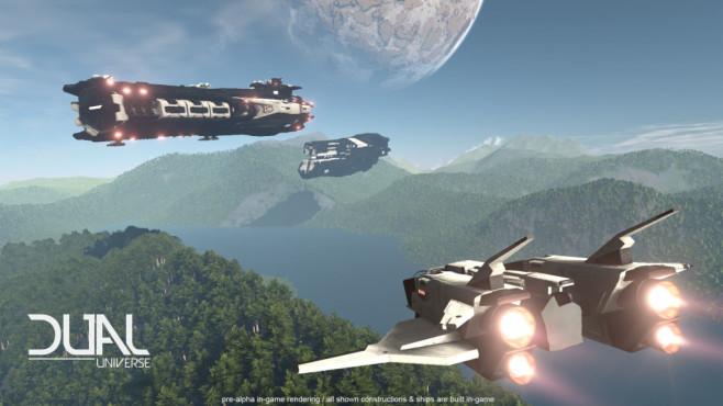 """Dual Universe: No Man's Sky trifft Minecraft """"Dual Universe"""" ist eine Mischung aus """"No Man's Sky"""" und """"Minecraft"""". ©Novaquark"""