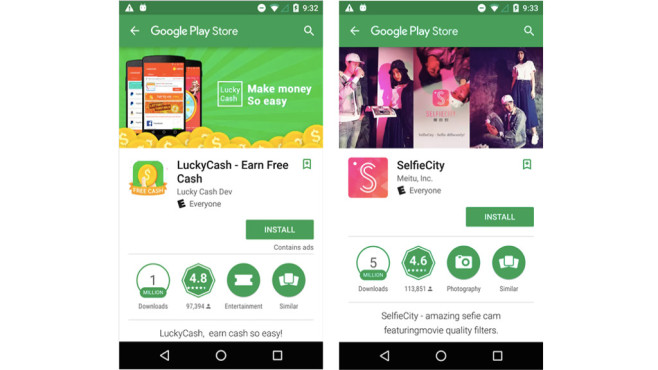 500 Spionage-Apps aus Play Store entfernt ©Lookout