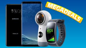 Megadeal: Galaxy S8 oder S8 Plus für 1 Euro ©Samsung, Sparhandy