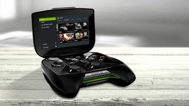 Handheld Nvidia Shield Portable ©magdal3na-Fotolia.com