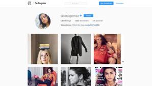 Selena Gomez: Instagram-Profil ©Screenshot Instagram / Selena Gomez