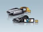 Panasonic stellt ultrakompakte HD-Camcorder vor Zwei neue HD-Camcorder bringt Panasonic im September auf den Markt.