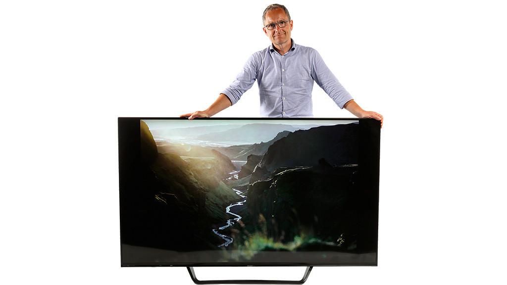 8k fernseher sharp lv 70x500e im test audio video foto bild. Black Bedroom Furniture Sets. Home Design Ideas