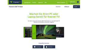 Freenet DVB-T2-Stick Update © Freenet