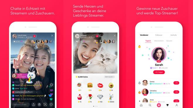 Line-Live-App ©LINE Corporation