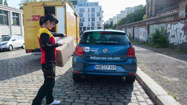 We by Volkswagen Deliver ©VW