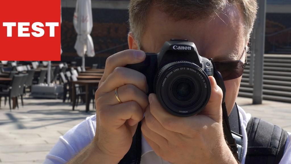 Canon EOS 200D im Test: Wie gut ist die Mini-DSLR? - AUDIO VIDEO ...