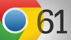 Chrome 61 © Google