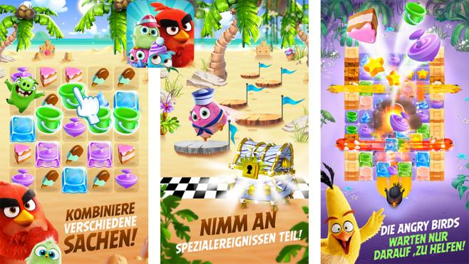 Angry Birds Match ©Rovio Entertainment