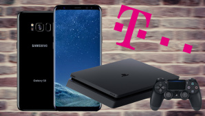 Telekom-LTE-Flat mit Galaxy S8 und Playstation 4 ©Samsung, Sony, Telekom