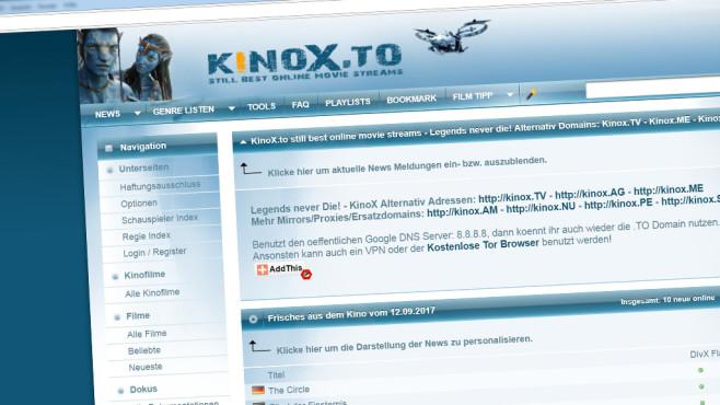 Kinox.to-Betreiber festgenommen©Kinox.to