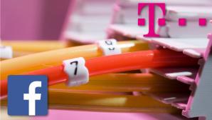 Kooperation zwischen Deutsche Telekom und Facebook ©Deutsche Telekom, Facebook