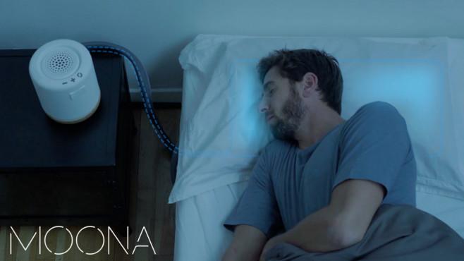Moona: Smartes Kissen ©Kickstarter.com