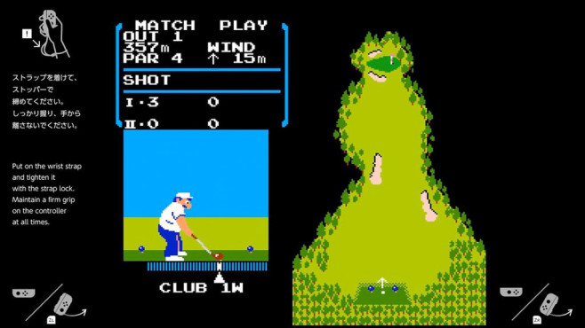 Switch: NES Golf © Nintendo / switchbrew.org
