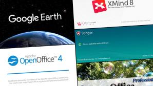 ©Google, Xmind, McAfee, OpenOffice, OxygenOffice