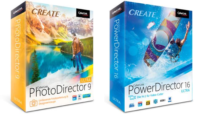PhotoDirector 9 und PowerDirector 16 ©CyberLink