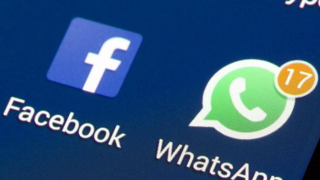 WhatsApp und Facebook ©BILD