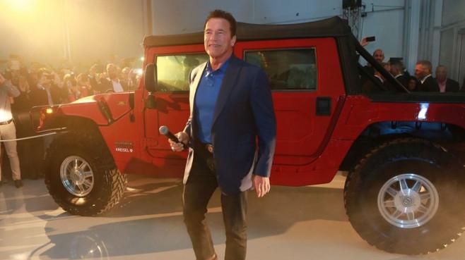 Schwarzenegger: Elektrohummer ©Kreisel Electric, Martin Hesz