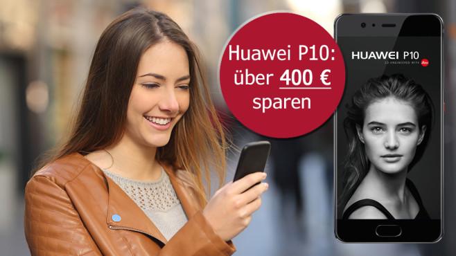 Huawei P10: Jetzt zum absoluten Tiefpreis ©Antonioguillem – Fotolia.com